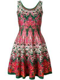 Alexander McQueen Kaleidescope Floral Dress at Farfetch
