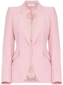 Alexander McQueen single-breasted Blazer - Farfetch at Farfetch