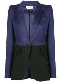Alexander McQueen two-tone Tailored Blazer - Farfetch at Farfetch