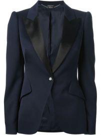 Alexander Mcqueen Tailored Blazer - Biffi at Farfetch