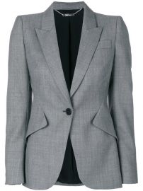 Alexander Mcqueen Tailored Blazer  1 995 - Buy AW17 Online - Fast Delivery  Price at Farfetch