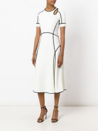 Alexander Wang Contrast Trim Dress at Farfetch