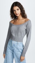 Alexander Wang Cropped Pullover Sweater at Shopbop