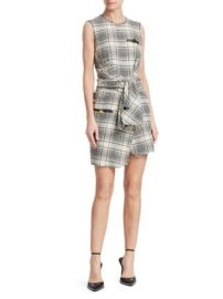Alexander Wang Deconstructed Tie Front Dress at Saks Fifth Avenue