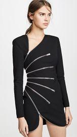 Alexander Wang Long Sleeve Sunburst Zip Dress at Shopbop
