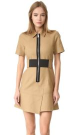 Alexander Wang Short Sleeve Safari Dress with Lacing at Shopbop