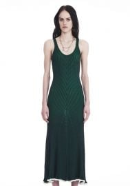 Alexander Wang Sleeveless Ribbed Maxi Dress  at Alexander Wang