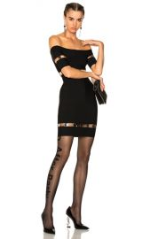 Alexander Wang Strapless Tee Dress in Onyx   FWRD at Forward