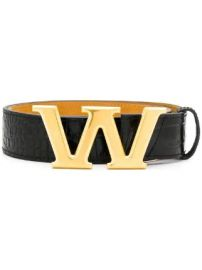 Alexander Wang W buckle belt W buckle belt at Farfetch