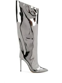 Alexandre Vauthier Alex Mirror Boots - Farfetch at Farfetch