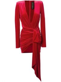 Alexandre Vauthier Plunging v-neck Dress - Farfetch at Farfetch