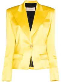 Alexandre Vauthier single-breasted Blazer - Farfetch at Farfetch
