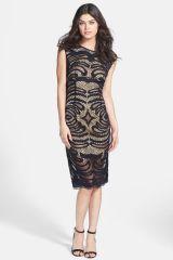 Alexia Admor Lace Bateau Midi Dress at Nordstrom Rack
