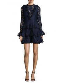 Alexis - Tracie Ruffle Mini Dress at Saks Fifth Avenue