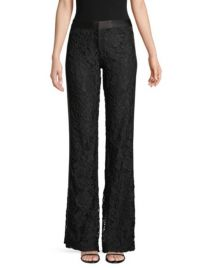 Alexis Nimma Lace Tuxedo Pants at Saks Fifth Avenue