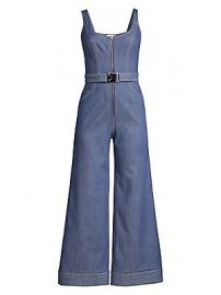 Alexis - Bristol Sleeveless Denim Jumpsuit at Saks Fifth Avenue