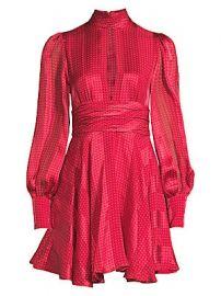 Alexis - Hadiza Printed Keyhole Fit- amp -Flare Dress at Saks Fifth Avenue