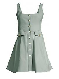 Alexis - Nena Button-Front A-Line Dress at Saks Fifth Avenue