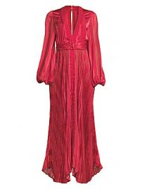 Alexis - Salomo Draped Maxi Dress at Saks Fifth Avenue