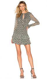Alexis Alba Mini Dress in Art Deco Sage from Revolve com at Revolve