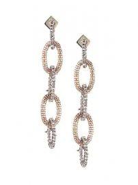Alexis Bittar - Crystal Encrusted Mesh Link Drop Earrings at Saks Fifth Avenue