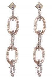 Alexis Bittar Crystal Encrusted Chain Drop Earrings   Nordstrom at Nordstrom