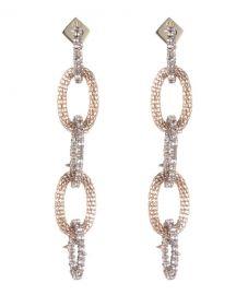 Alexis Bittar Crystal Encrusted Mesh-Link Dangle Earring at Neiman Marcus