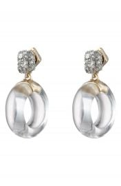 Alexis Bittar Domed Drop Circle Post Earrings   Nordstrom at Nordstrom