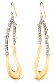 Alexis Bittar Freeform Crystal Encrusted Drop Earrings at Nordstrom