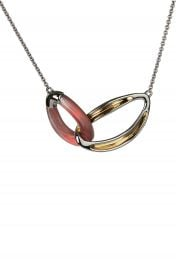 Alexis Bittar Two-Tone Double Link Necklace   Nordstrom at Nordstrom
