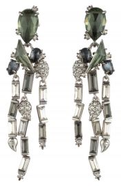 Alexis Bittar Winter Paisley Stone Cluster Earrings at Nordstrom