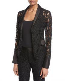 Alexis Bonis Floral Lace Jacket at Neiman Marcus