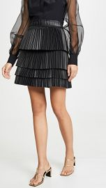 Alexis Briana Vegan Leather Skirt at Shopbop