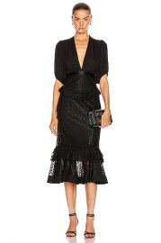 Alexis Dilarra Dress in Black   FWRD at Forward