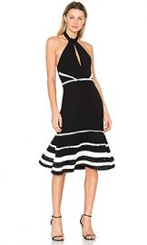 Alexis Doriann Dress in Black  amp  White from Revolve com at Revolve