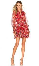 Alexis Jaila Dress in Eden Floral Red from Revolve com at Revolve