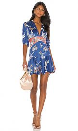 Alexis Nari Dress in Royal Blue Orchid from Revolve com at Revolve