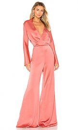 Alexis Raine Jumpsuit in Rose Madder from Revolve com at Revolve