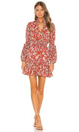 Alexis Rosewell Dress in Saffron Floral from Revolve com at Revolve