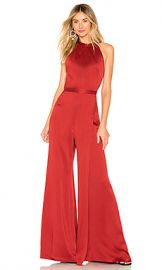 Alexis Sanaya Jumpsuit in Rust from Revolve com at Revolve