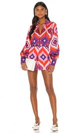 Alexis Siven Romper in Kaleidoscope from Revolve com at Revolve