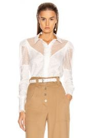 Alexis Virginia Top in White   FWRD at Forward