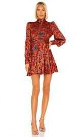 Alexis X REVOLVE Jazmina Dress in Red Floral from Revolve com at Revolve