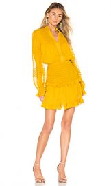 Alexis X REVOLVE Shaina Dress in Yellow from Revolve com at Revolve