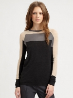 Alex's colorblock sweater at Saks at Saks Fifth Avenue