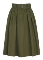 Alexs green midi skirt on Happy Endings at House of Fraser