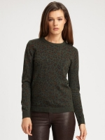 Alexs leopard sweater at Saks at Saks Fifth Avenue