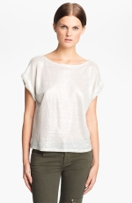 Alexs metallic tee at Nordstrom
