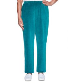 Alfred Dunner Bright Idea Proportioned Velour Pants   Reviews - Pants   Leggings - Women - Macy s at Macys