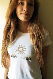 Ali Sun Eyes Top at Brandy Melville